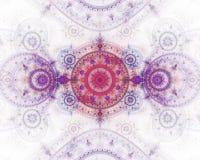 абстрактное изображение фрактали цвета Стоковое Изображение RF