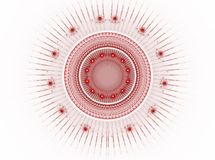 абстрактное изображение фрактали цвета Стоковые Изображения RF