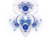 абстрактное изображение фрактали цвета Стоковая Фотография RF