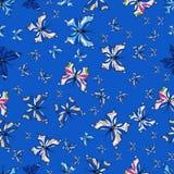 Абстрактное изображение цветов иллюстрация штока