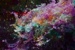 Абстрактное искусство воды Стоковое фото RF