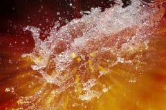 Абстрактное искусство воды Стоковое Фото