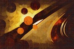 Абстрактное искусство дизайна цвета стоковое изображение rf