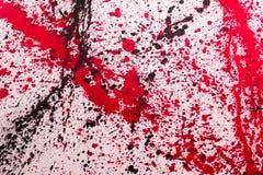Абстрактное искусство картины выплеска: Ходы с другим цветом Patte Стоковая Фотография RF