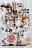 Абстрактное искусство пляжа Стоковые Изображения