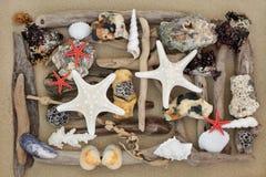 Абстрактное искусство пляжа Стоковое Фото