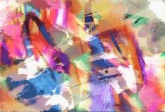 абстрактное искусство самомоднейшее Стоковые Фотографии RF
