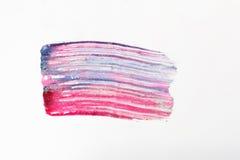 Абстрактное искусство, современная картина Смазанный маникюр Стоковые Изображения RF