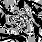 Абстрактное искусство с случайными, хаотическими формами африканская художническая маска опарника иллюстрации платья мастерства ш Стоковые Фотографии RF