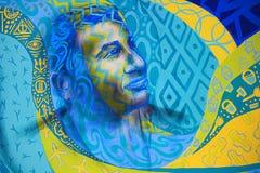 Абстрактное искусство, фестиваль искусств Kala Ghoda, Мумбай, махарастра Стоковое Изображение