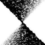 абстрактное искусство Художническое абстрактное геометрическое, иллюстрация Почерните a иллюстрация штока