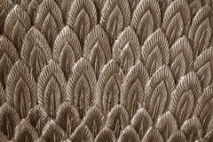 Абстрактное коричневое перо штукатурки Стоковые Изображения RF