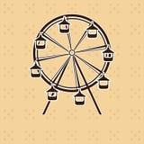 Абстрактное колесо ferris Стоковые Изображения RF