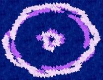 абстрактное кольцо сини предпосылки Стоковые Изображения RF