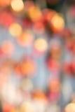 Абстрактное красное bokeh Стоковое Изображение RF