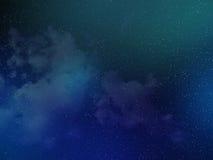 Абстрактное красочное небесно-голубое стоковые фотографии rf