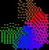 Абстрактное красочное - предпосылка иллюстрация штока