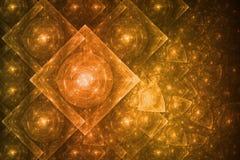 абстрактное кристаллическое образование Стоковые Изображения