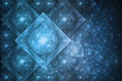 абстрактное кристаллическое образование Стоковое Фото