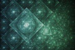 абстрактное кристаллическое образование Стоковая Фотография