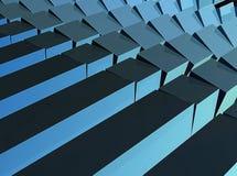 абстрактное кубическое Стоковая Фотография