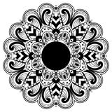 абстрактное мандала Стоковые Фото