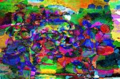 абстрактное масло цветов Стоковая Фотография RF