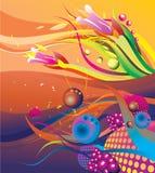 абстрактное море вниз бесплатная иллюстрация