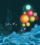 абстрактное море Стоковое фото RF