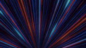 Абстрактное неоновое зарево линий фары сердитой Шоу света диско лазера на черной предпосылке Неоновые линии светящие иллюстрация вектора