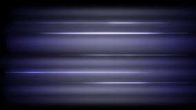 Абстрактное неоновое знамя света накаляет на черной предпосылке Стоковая Фотография RF