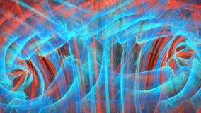 Абстрактное неоновое пламя Абстрактный фон сток-видео
