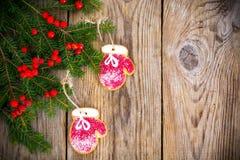 абстрактное Новый Год рождества предпосылки Стоковое Изображение RF