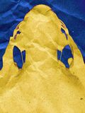 абстрактное нот Стоковая Фотография