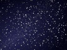 Абстрактное ночное небо звезды Стоковое Фото