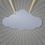 Абстрактное облако Стоковые Фото