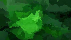 Абстрактное оживленное мерцание запятнало цвет безшовной петли предпосылки видео- изумрудно-зеленый иллюстрация штока