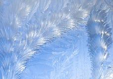 абстрактное окно заморозка предпосылки Стоковые Изображения