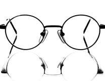 абстрактное отражение eyeglass конструкции предпосылки стоковая фотография rf