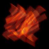 абстрактное пламя предпосылки Стоковая Фотография RF