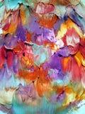 абстрактное покрашенное цветастое Стоковые Изображения RF