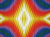 абстрактное покрашенное цветастое Стоковые Фотографии RF