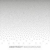 Абстрактное полутоновое изображение градиента ставит точки предпосылка Стоковое Фото