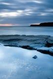 абстрактное прибрежное место Стоковые Изображения RF