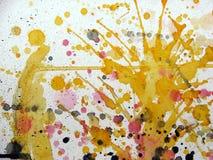 абстрактное проиллюстрированное grunge предпосылки Стоковые Фотографии RF