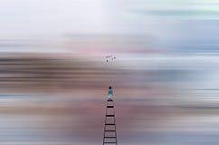Абстрактное путешествие в мечты Стоковые Изображения