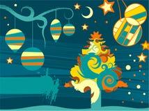 абстрактное рождество предпосылки Стоковые Фото
