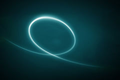 абстрактное светлое swoosh Стоковое фото RF