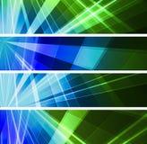 Абстрактное светлое знамя Стоковая Фотография RF