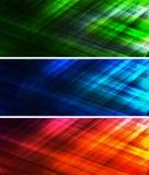 Абстрактное светлое знамя Стоковое Изображение